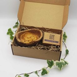 Zero Waste Path Natural Soap Gift Set in gift box