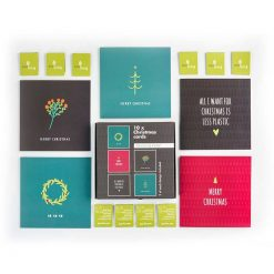 minimalist recycled multipack christmas cards