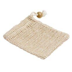 soap bag with drawstring