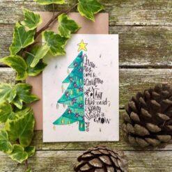 christmas comes christmas goes xmas card