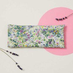 bright floral eye pillow