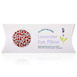 red berry eye pillow