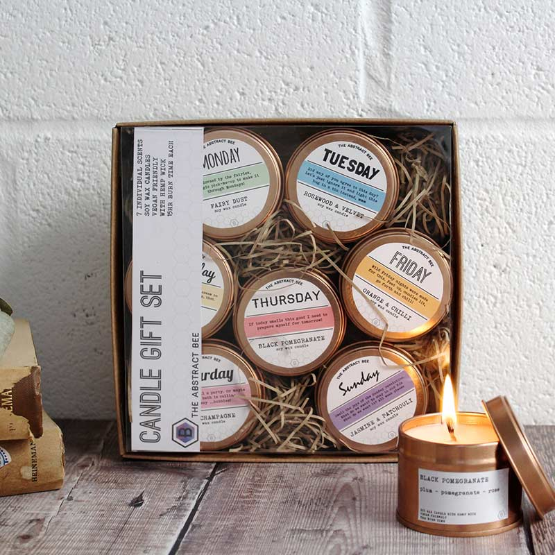 vegan soy wax candles gifts for eco warriors