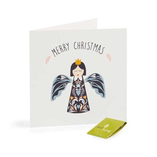 angel xmas card