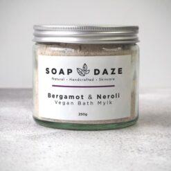 soap daze mini bath mylk bergamot